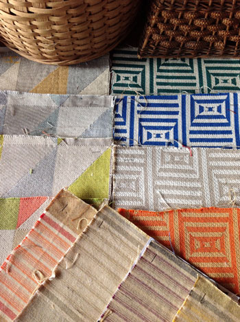 Country Color is new Sunbrella fabric from the Joe Ruggiero Collection for Showtime, which runs Dec. 8-11.