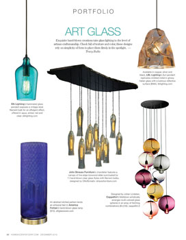 Art Glass Lighting Portfolio