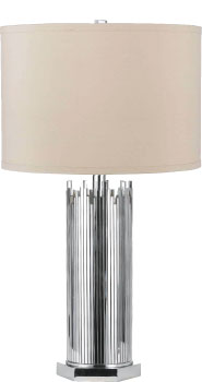 AF Lighting Chrome Lamp