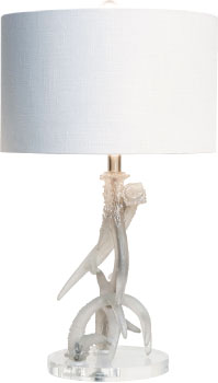Couture Antler Lamp