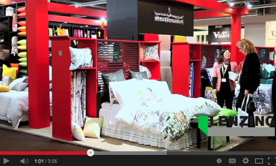 Lenzing video from Heimtextil