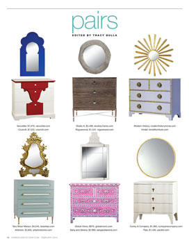 Pairs: Chests and mirrors