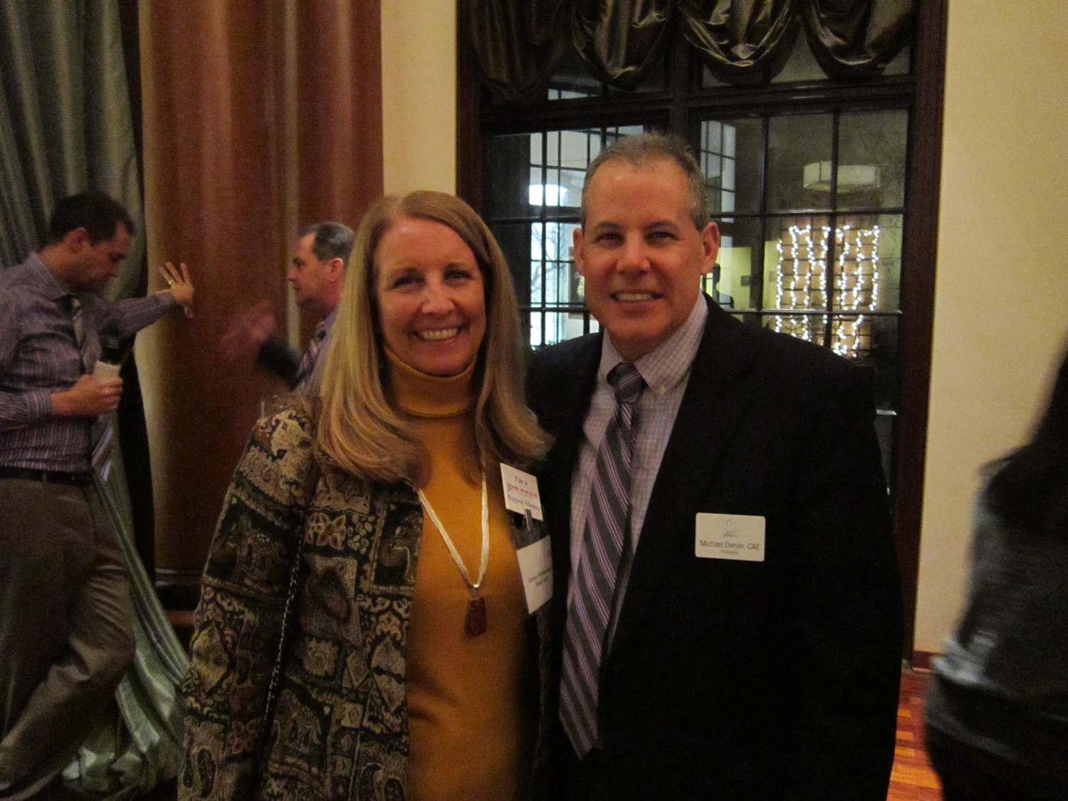 JPMA Board of Directors Chair Luanne Lager and JPMA President Michael Dwyer