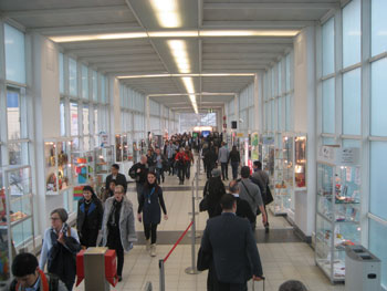 The halls were bustling at Ambiente 2014, which drew 144,000 buyers from 161 countries and 4,724 exhibitors from 81 countries.