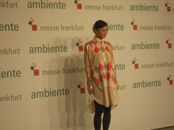 "Rila Fukushima, a Japanese actress and model whose film credits include ""The Wolverine,"" was a guest of honor at Ambiente's Partner Country Day."