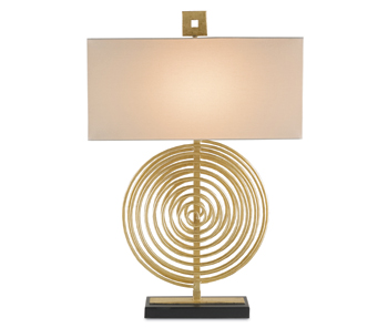 Currey And Company Cirque Table Lamp Gold