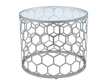 Allan Copley Designs Melissa End Table Honeycomb