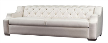 The K 3001 sofa is one of the upholstery introductions in the Trump Home by Dorya collection.