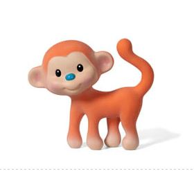 Infantino Go Gaga Squeeze & Teethe Coco the Monkey