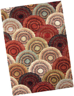 Wild Weave is a popular rug collection from Anderson, S.C.-based Orian Rugs, which produces all of its products in America.
