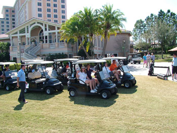 About 25 casual furnishings manufacturers and retailers set out to play a round on opening day at Shingle Creek Golf Club. TUUCI sponsored the refreshments, goodie bags and prizes for winners.