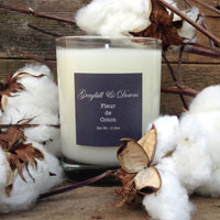 Fleur de Coton candle from Graybill Downs