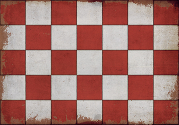 Spicher & Co. Vinyl Vintage Checkerboard Floorcloths